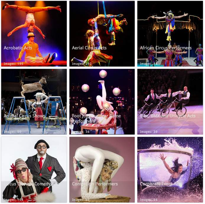 Circus Entertainment Gallery