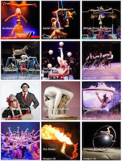 Circus Act - Circus Guide Entertainment Gallery