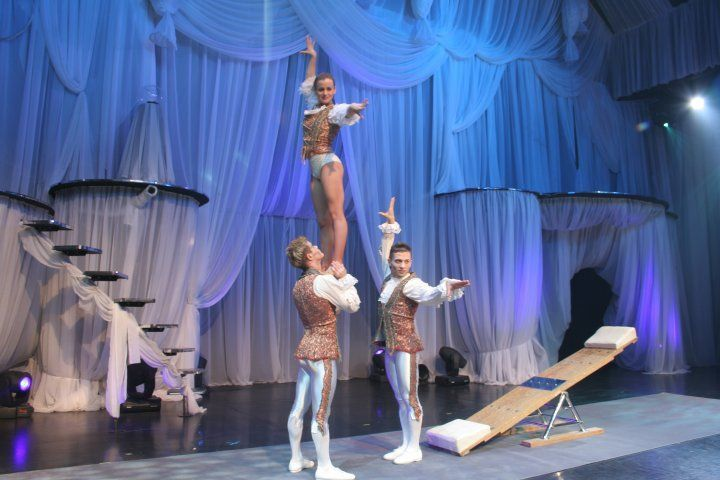 Teeterboard Acts for hire-Circus Entertainment Agency